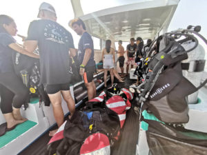 Diving Boat | Bali Snorkeling Package
