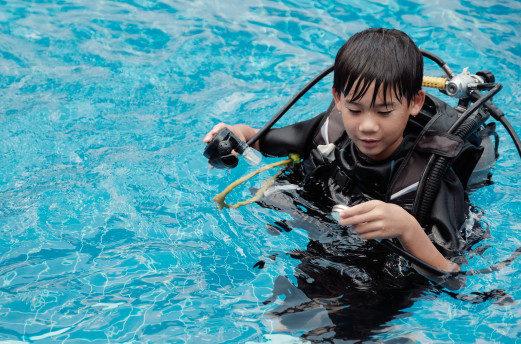 PADI Bubblemaker Bali
